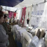 Stanley market curtain fabric and nets